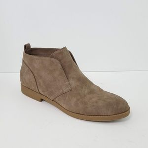 {indigo rd.} Amanza Taupe Ankle Boots Booties 9